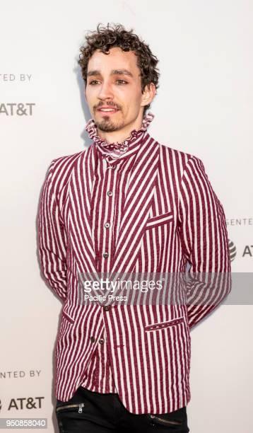 Robert Sheehan attends screening of Genius Picasso' during the 2018 Tribeca Film Festival at BMCC Tribeca PAC Manhattan