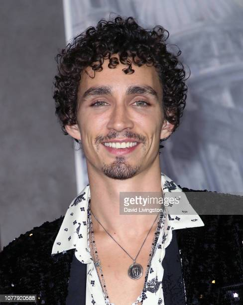 Robert Sheehan attends the premiere of Universal Pictures' 'Mortal Engines' at the Regency Village Theatre on December 05 2018 in Westwood California