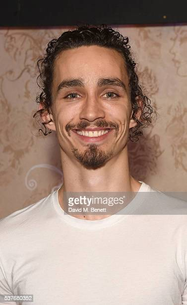 Robert Sheehan attends the press night after party for The Spoils written by and starring Jesse Eisenberg at The Cuckoo Club on June 2 2016 in London...