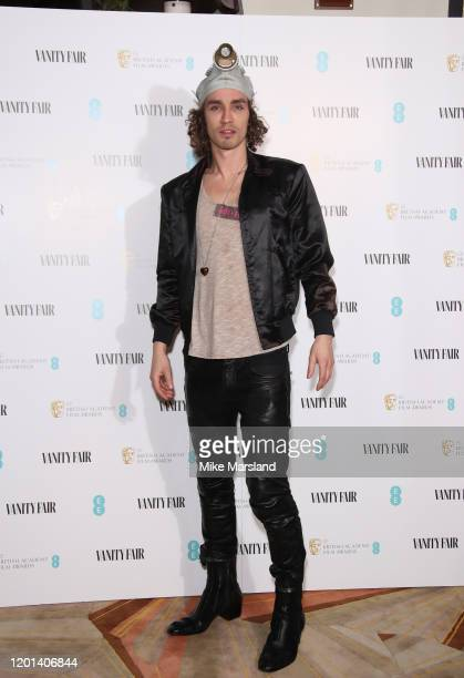 Robert Sheehan attends the Vanity Fair EE Rising Star BAFTAs Pre Party at The Standard on January 22 2020 in London England