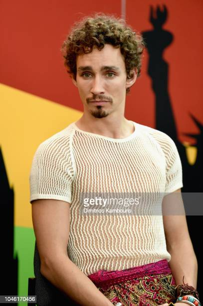 Robert Sheehan of 'Mortal Engines' attends IMDb at New York Comic Con Day 1 at Javits Center on October 5 2018 in New York City