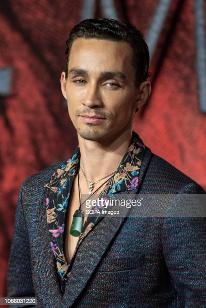 Robert Sheehan seen attending the World Premiere of 'Mortal Engines' at the Cineworld Leicester Square in London