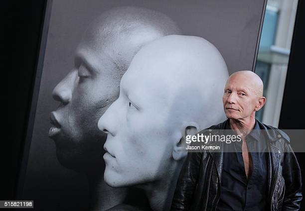 Robert Sherman Robert Mapplethorpe's model attends the premiere of HBO Documentary Films' 'Mapplethorpe Look At The Pictures' on March 15 2016 in Los...