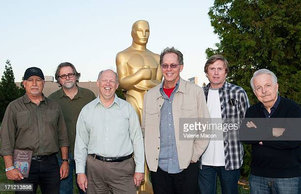 Robert Short Alan Munro Richard L Anderson Larry Wilson Tom Duffield and Thomas Ackerman attends The Academy Of Motion Picture Arts And Sciences'...