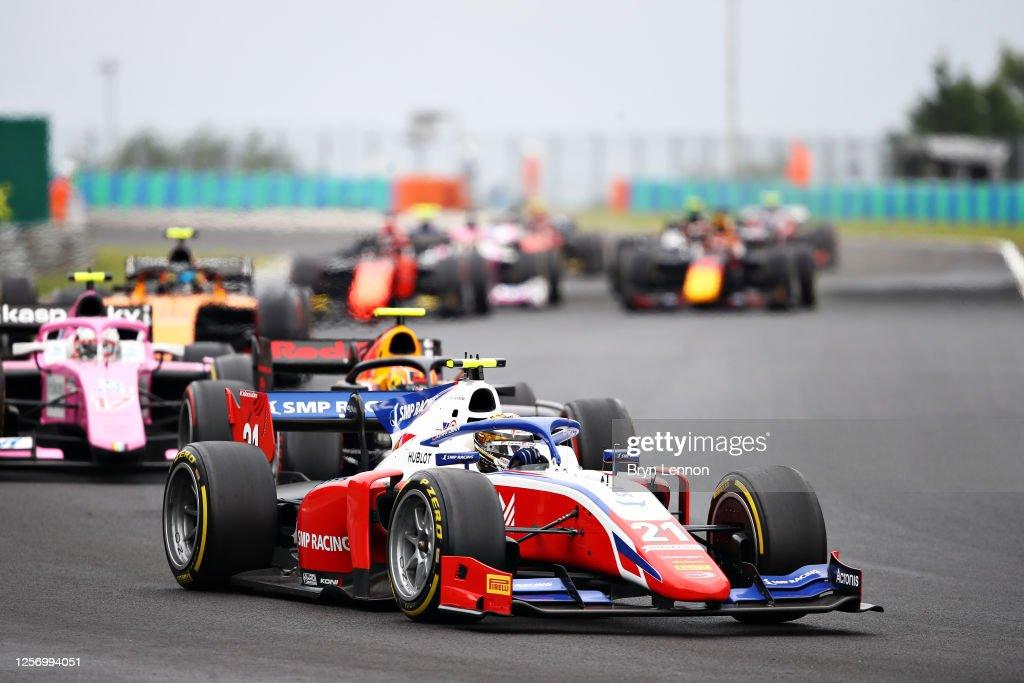 Formula 2 Championship - Round 3:Budapest - Second Race : News Photo