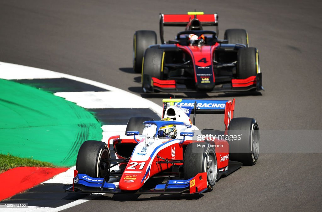 Formula 2 Championship - Round 4:Silverstone - Feature Race : News Photo