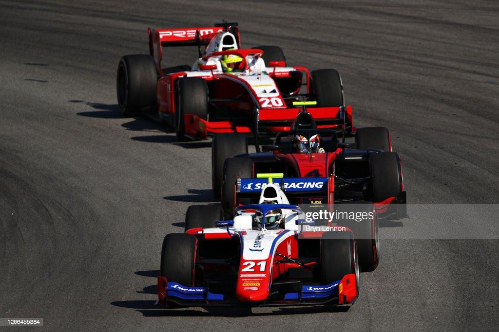 Formula 2 Championship - Round 6:Barcelona - Feature Race : News Photo