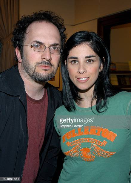 Robert Smigel and Sarah Silverman during Comedy Tonight A Night of Comedy to Benefit the 92nd Street Y at The 92nd Street Y in New York City NY...