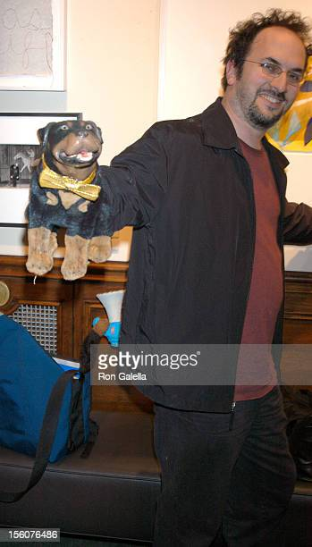 Robert Smigel and Triumph the Insult Comic Dog during Comedy Tonight A Night of Comedy to Benefit the 92nd Street Y at 92nd Street Y in New York City...