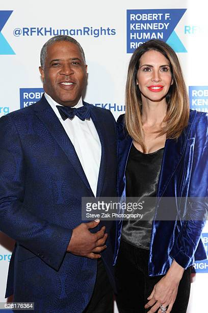 Robert Smith and Hope Dworaczyk attend 2016 Robert F. Kennedy Human Rights' Ripple of Hope Awardsat New York Hilton Midtown on December 6, 2016 in...