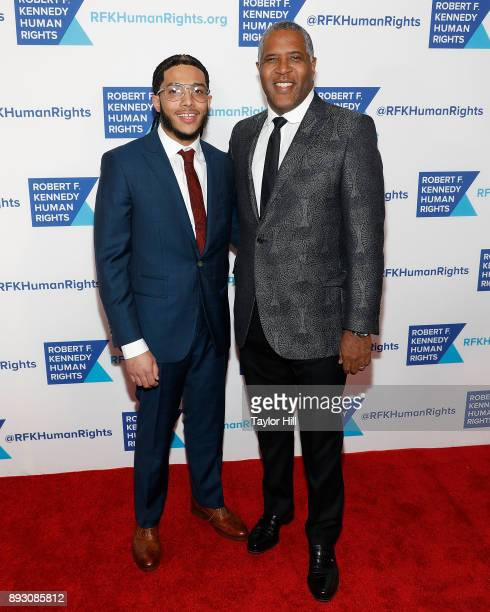 Robert Smith attends Robert F Kennedy Human Rights Hosts Annual Ripple Of Hope Awards Dinner on December 13 2017 in New York City
