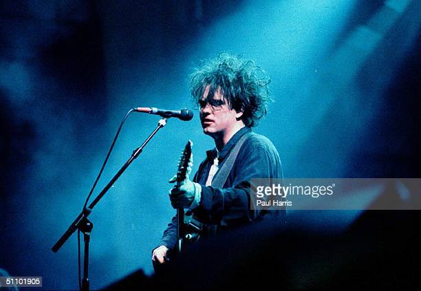 Robert Smith lead singer guitarist multi instrumentalist lyricist principal songwriter and only consistent member of the rock band The Cure which he...