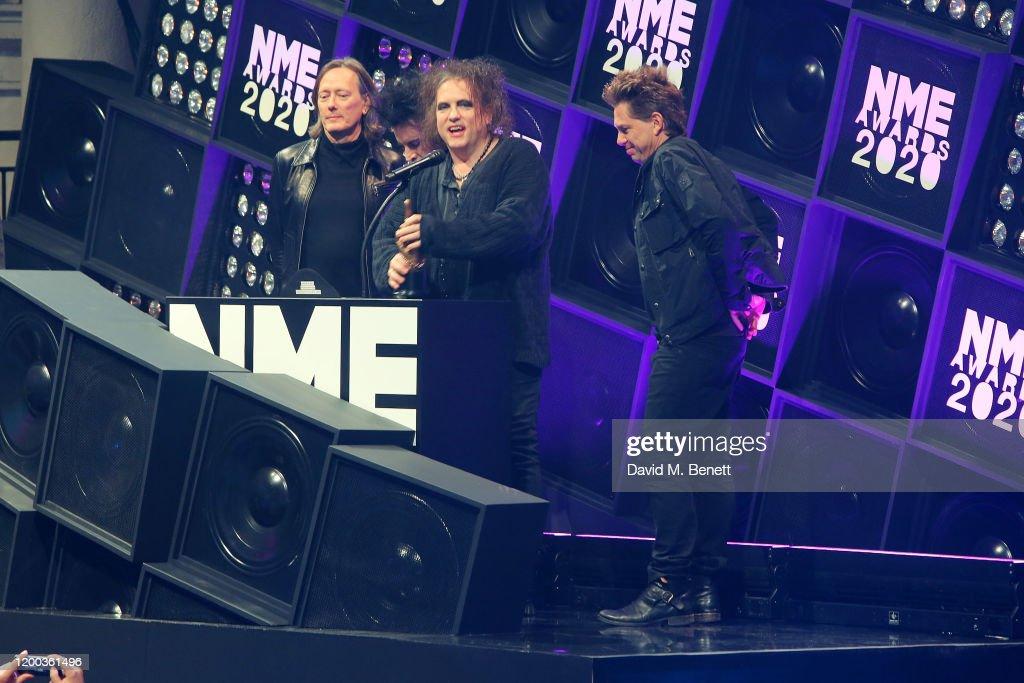 NME Awards 2020 - Inside Ceremony : News Photo