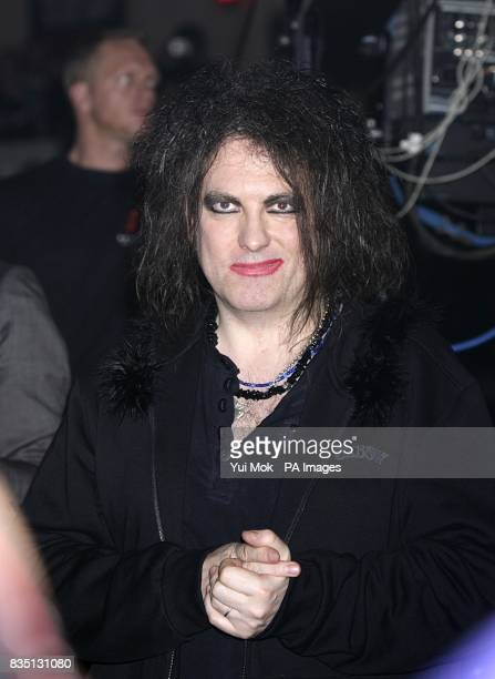 Robert Smith of The Cure at the Shockwaves NME Awards 2009 at the 02 Academy Brixton London
