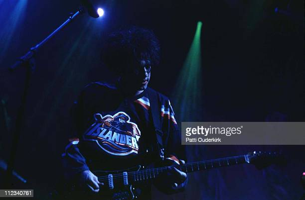 Robert Smith of The Cure during The Cure in Concert at Nassau Coliseum 1996 at Nassau Veterens Memorial Coliseum in Uniondale New York United States