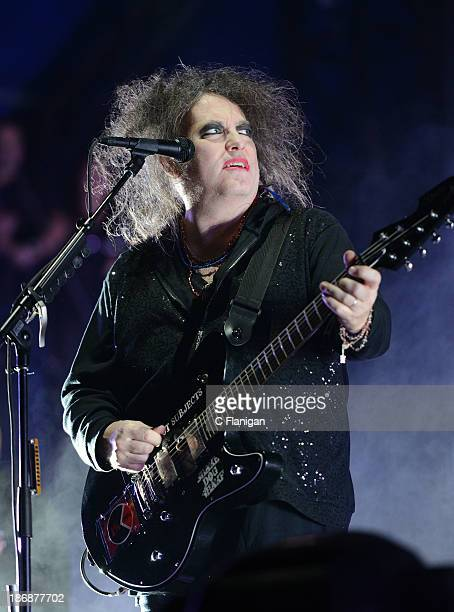Robert Smith of The Cure performs during the 2013 Voodoo Music + Arts Experience at City Park on November 3, 2013 in New Orleans, Louisiana.