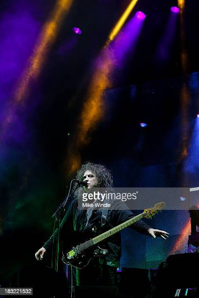 Robert Smith of The Cure performs onstage during Day 2 of the 2013 Austin City Limits Music Festival at Zilker Park on October 5, 2013 in Austin,...