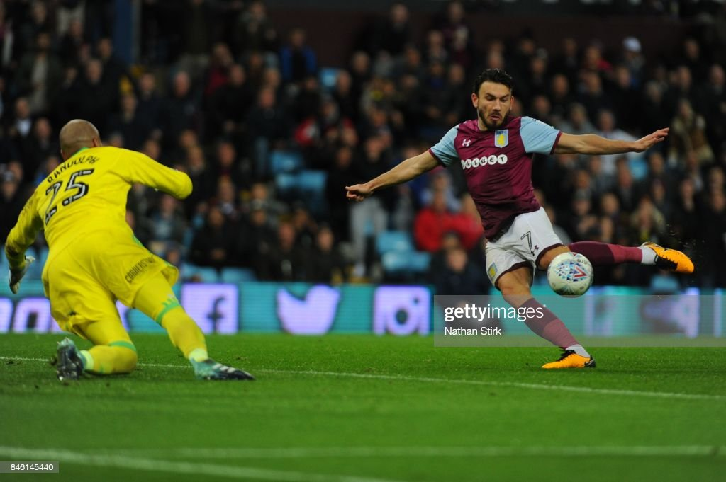 Aston Villa v Middlesbrough - Sky Bet Championship : News Photo
