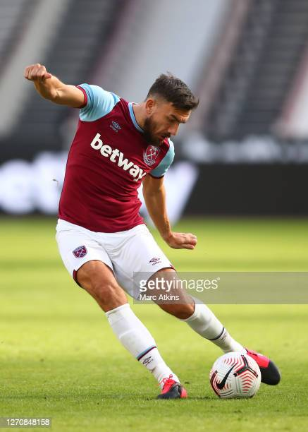 Robert Snodgrass of West Ham United during the PreSeason Friendly between West Ham United and AFC Bournemouth at London Stadium on September 05 2020...