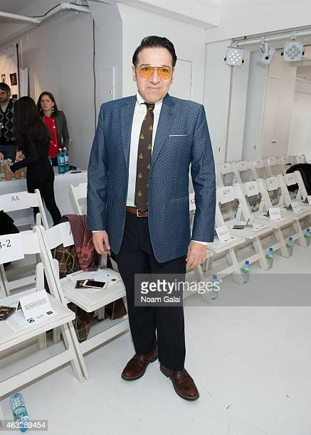 Robert Solis attends the Darkoh fashion show during MercedesBenz Fashion Week Fall 2015 at The Designer's Loft on February 12 2015 in New York City