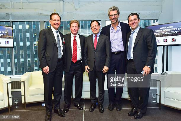 Robert Sorin Kenneth Fisher Daniel R Garodnick Anthony E Malkin and Peter Riguardi attend Commercial Observer The Future of Midtown East at 605 Third...