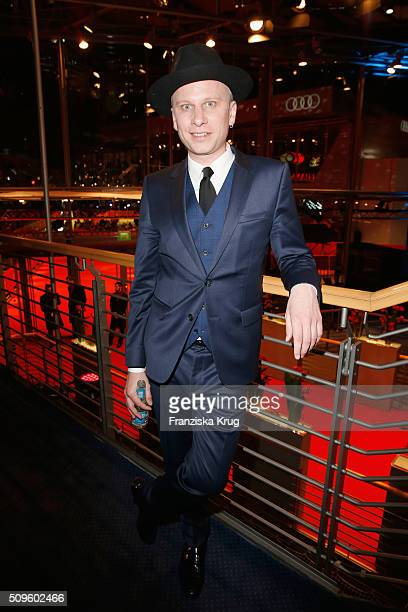 Robert Stadlober attends the opening party of the 66th Berlinale International Film Festival Berlin at Berlinale Palace on February 11 2016 in Berlin...