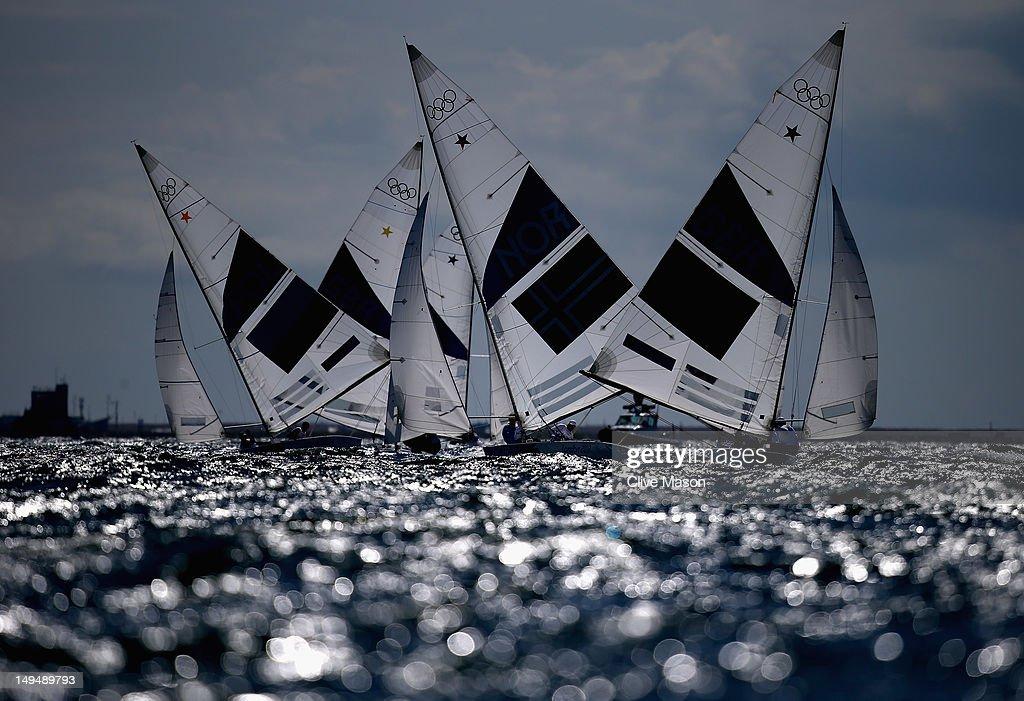 Olympics Day 2 - Sailing : News Photo