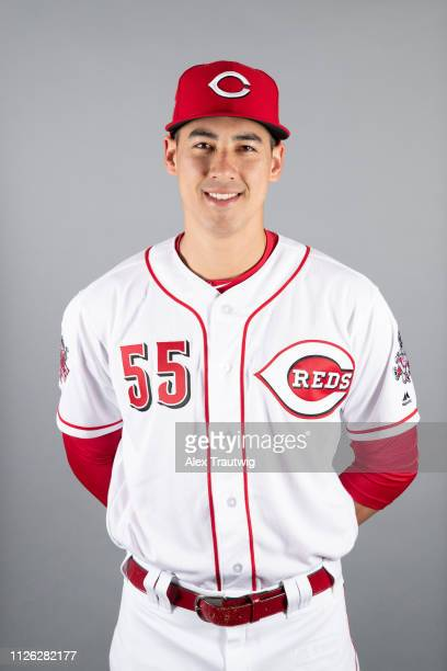 Robert Stephenson of the Cincinnati Reds poses during Photo Day on Tuesday February 19 2019 at Goodyear Ballpark in Goodyear Arizona