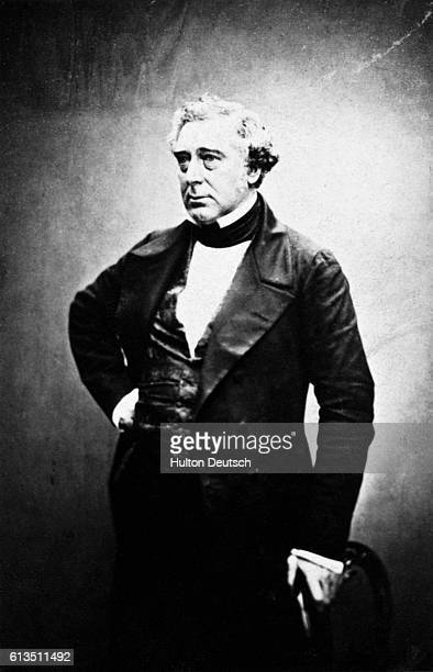 Robert Stephenson the structural engineer and bridge designer He was the son of George Stephenson who built the first locomotive