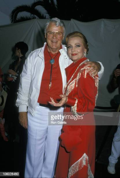 Robert Sterling and Anne Jeffreys during 35th Annual SHARE Boomtown Party May 21 1988 at Santa Monica Civic Auditorium in Santa Monica California...