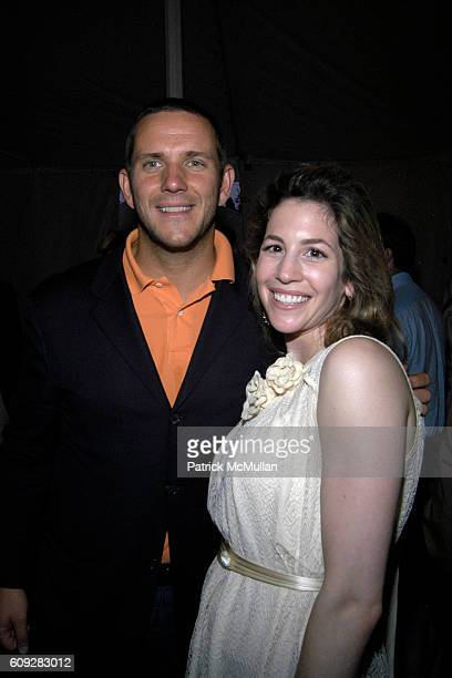 Robert Stilin and Jill Bikoff attend The Parrish Art Museum Midsummer Party Honoring Director Trudy C Kramer at Southampton on July 14 2007