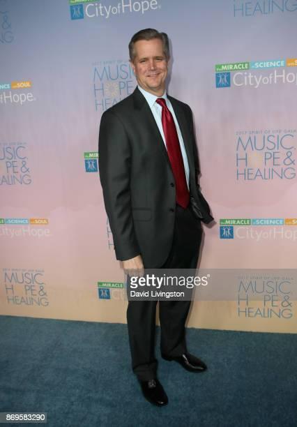 Robert Stone at the City of Hope's 2017 Spirit of Life Gala at Barker Hangar on November 2 2017 in Santa Monica California