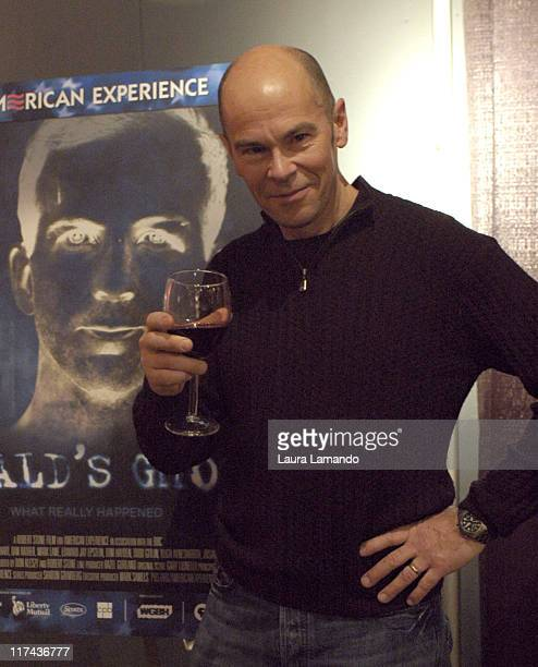 Robert Stone director of Oswald's Ghost during 2007 Sundance Film Festival PBS Party at Kimball Art Center in park City Utah United States