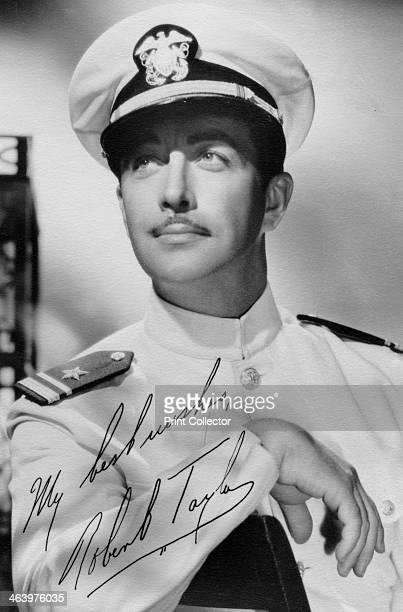 Robert Taylor American actor c1940s