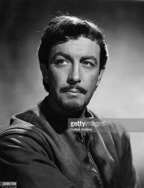Robert Taylor the stage name of Spangler Arlington Brugh the American leading man as he appears in the title role of the film 'Ivanhoe' directed by...