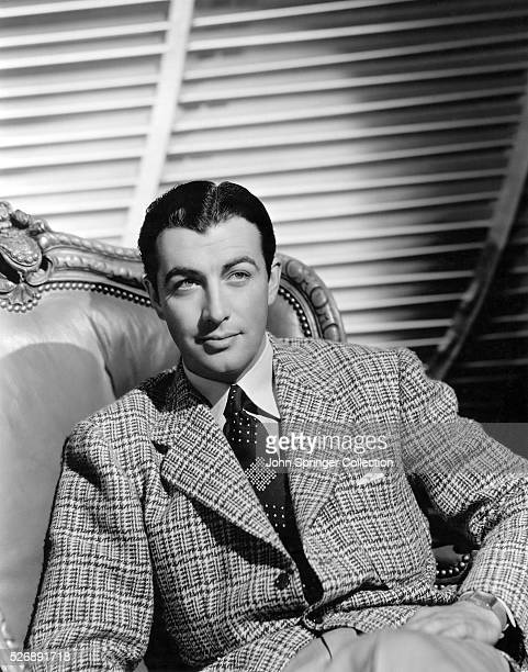 Robert Taylor was best known as a suave romantic lead of the 1940s