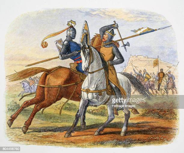 Robert the Bruce kills Sir Henry de Bohun Battle of Bannockburn Scotland 1314 Sir Henry de Bohun an English knight spotted the Scottish king on the...