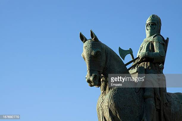 Robert The Bruce Statue, Bannockburn, Scotland.