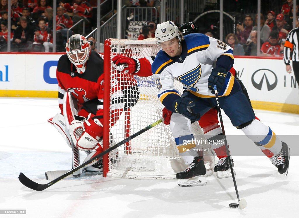 St. Louis Blues v New Jersey Devils : News Photo