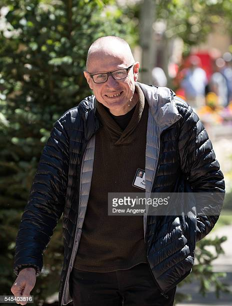 Robert Thompson chief executive of News Corp attends the annual Allen Company Sun Valley Conference July 7 2016 in Sun Valley Idaho Every July some...