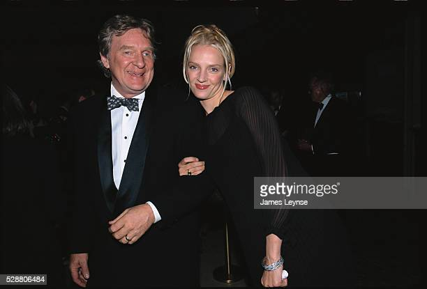 Robert Thurman accompanies his daughter actress Uma Thurman to the National Arts Awards Gala at Lincoln Center in New York Robert Thurman is a...