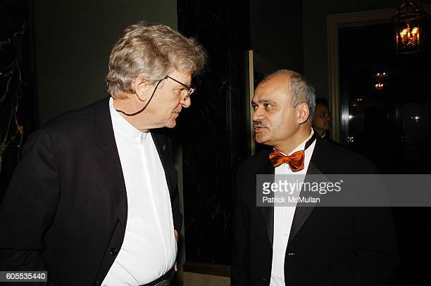Robert Thurman and Bharat Bhise attend Sanskriti Center 2nd Annual Benefit Gala at NY Raquet and Tennis Club NYC on May 19 2006 in New York City