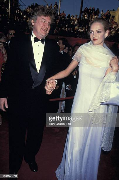 Robert Thurman and Uma Thurman