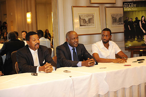 Diary of a single mom season 3 press junket photos and images robert townsend richard roundtree and leon attend the diary of a single mom ccuart Image collections