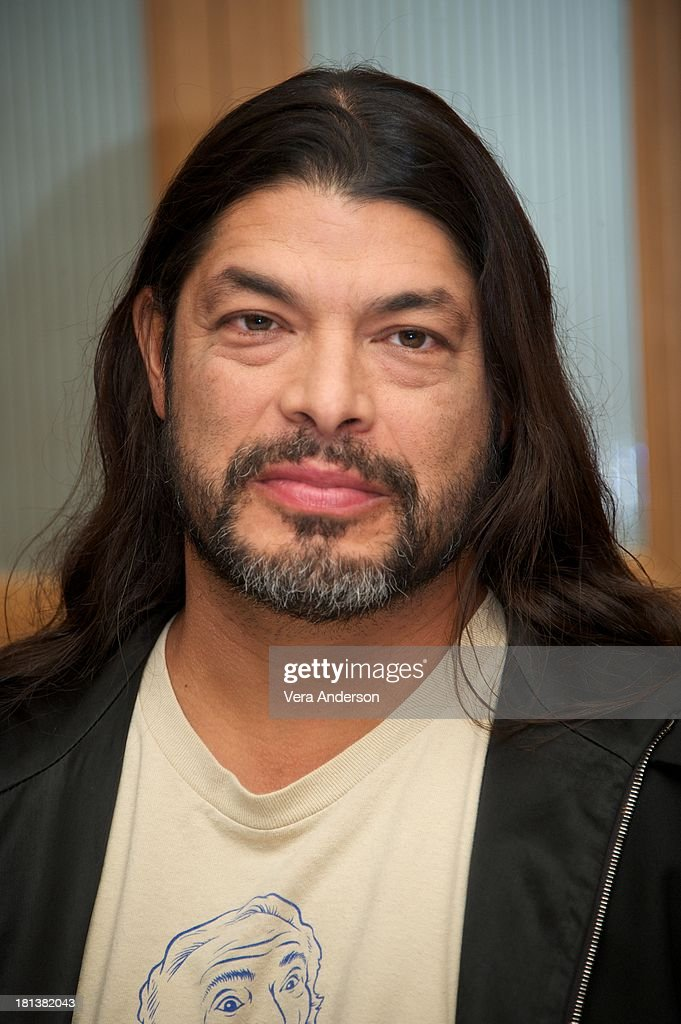 Robert Trujillo at the 'Metallica: Through The Never' Press Conference at the Fairmont Hotel on September 17, 2013 in San Francisco, California.