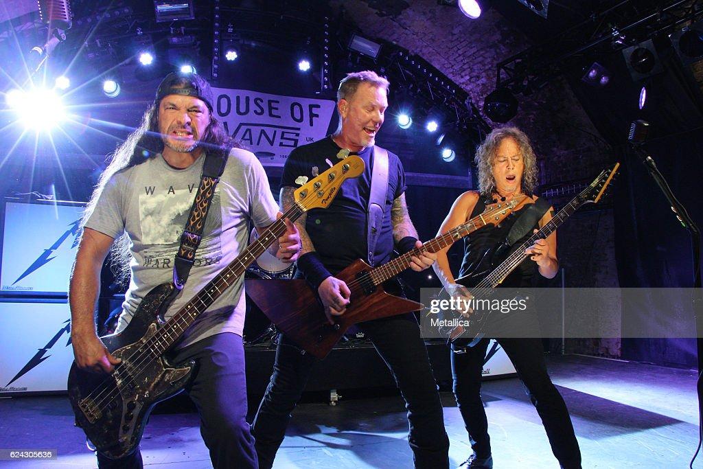 Metallica Performs At House Of Vans