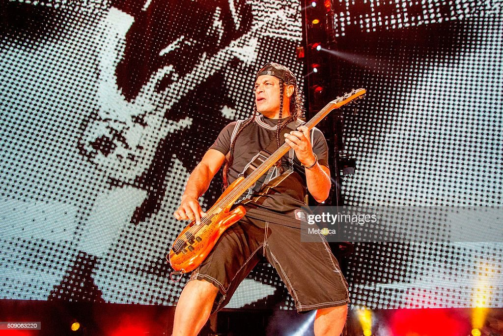robert trujillo of metallica performing the night before at at t park news photo getty images. Black Bedroom Furniture Sets. Home Design Ideas