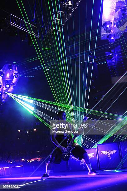 Robert Trujillo of Metallica performs at Datch forum on June 22 2009 in Milan Italy