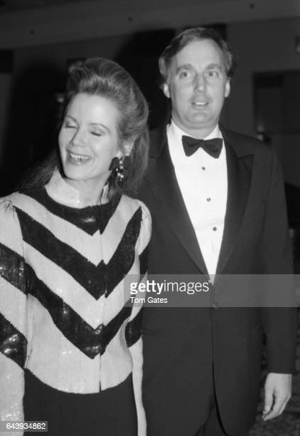 Robert Trump and his wife Blaine Trump attend a benefit dinner dance at the Plaza Grand Ballroom for Casita Maria the South Bronx based charity...