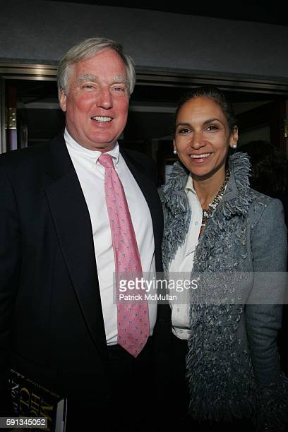 Robert Trump and Susan Fales Hill attend Authors In Kind 2005 God's Love We Deliver Hosts It's 2nd Annual Luncheon at The Rainbow Room on April 12...